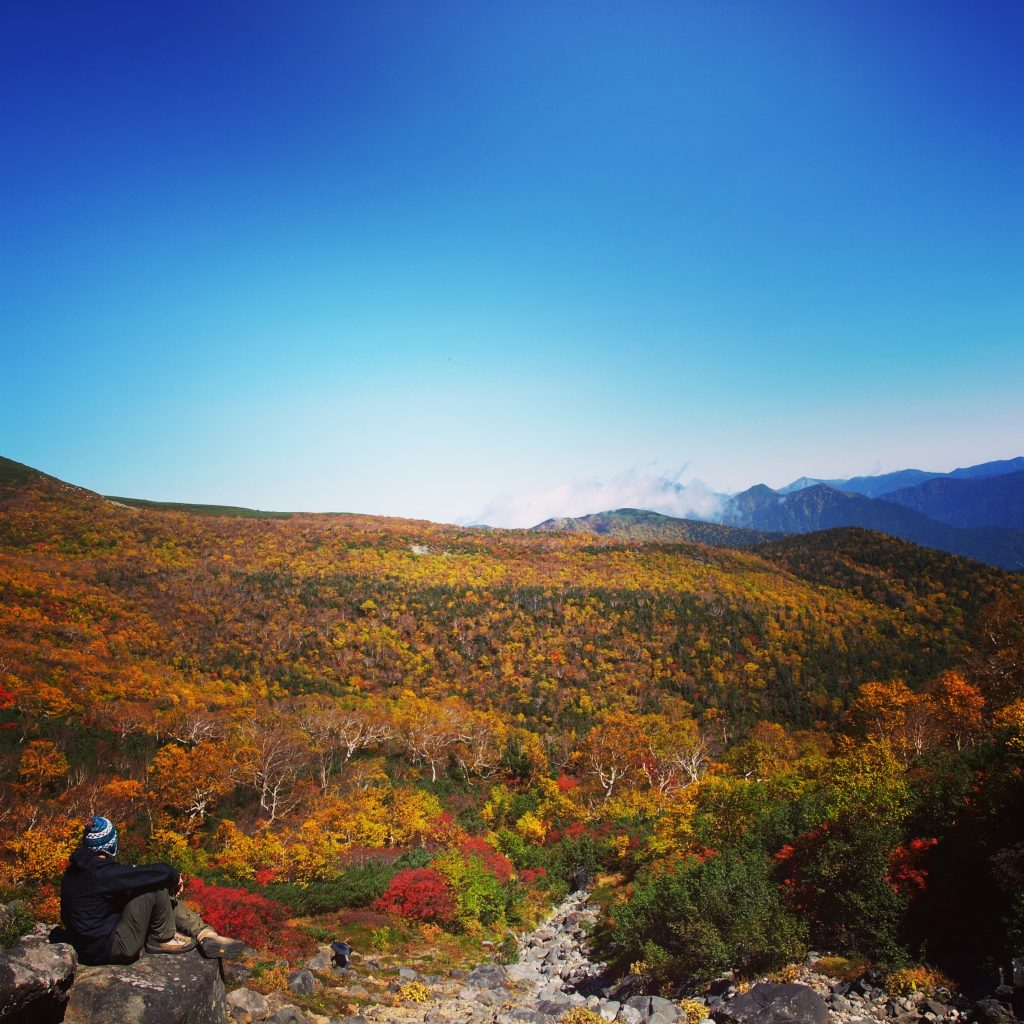 2015年秋 乗鞍岳2300m付近